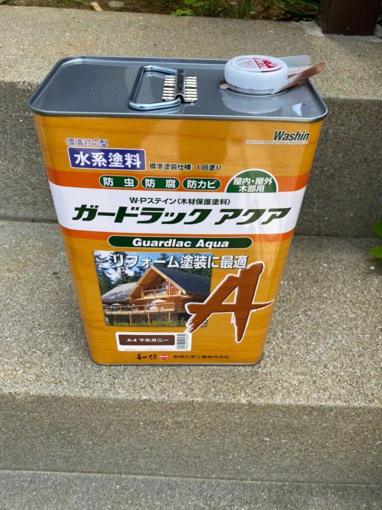 ガードラックアクア:福岡市 木製扉塗装 防犯カメラ取り付け など 写真1