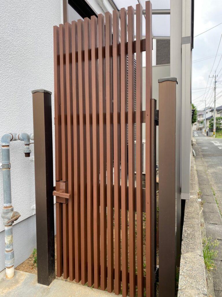 福岡市 木製扉塗装 防犯カメラ取り付け など 写真7
