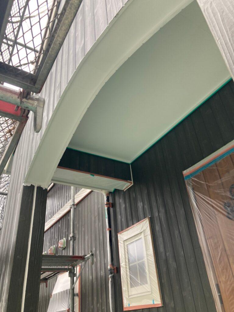 那珂川市 外壁下塗りと軒天塗装 写真12