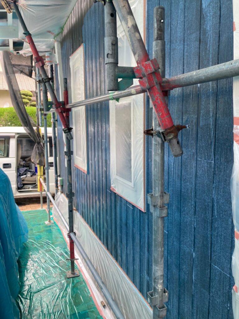 那珂川市 外壁下塗りと軒天塗装 写真6