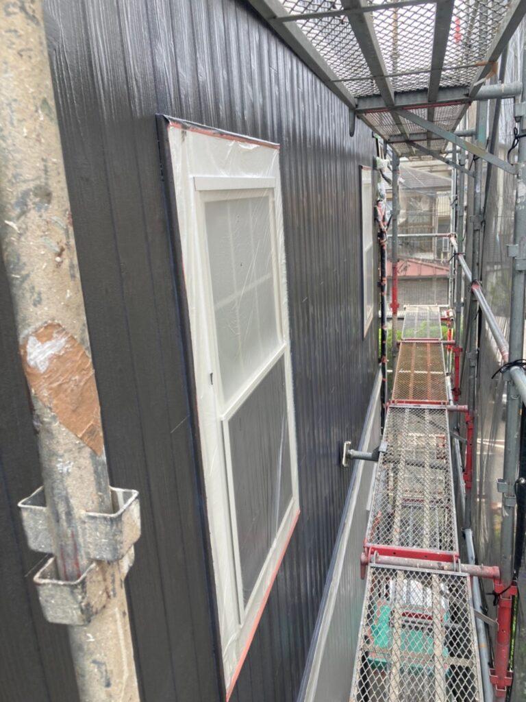 那珂川市 外壁中塗り 写真10