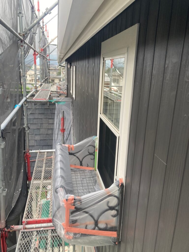 那珂川市 外壁中塗り 写真12