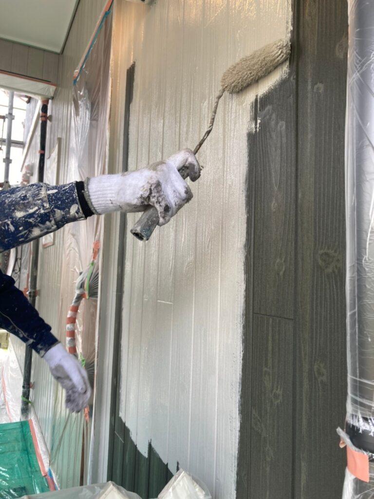 那珂川市 外壁中塗り 写真4