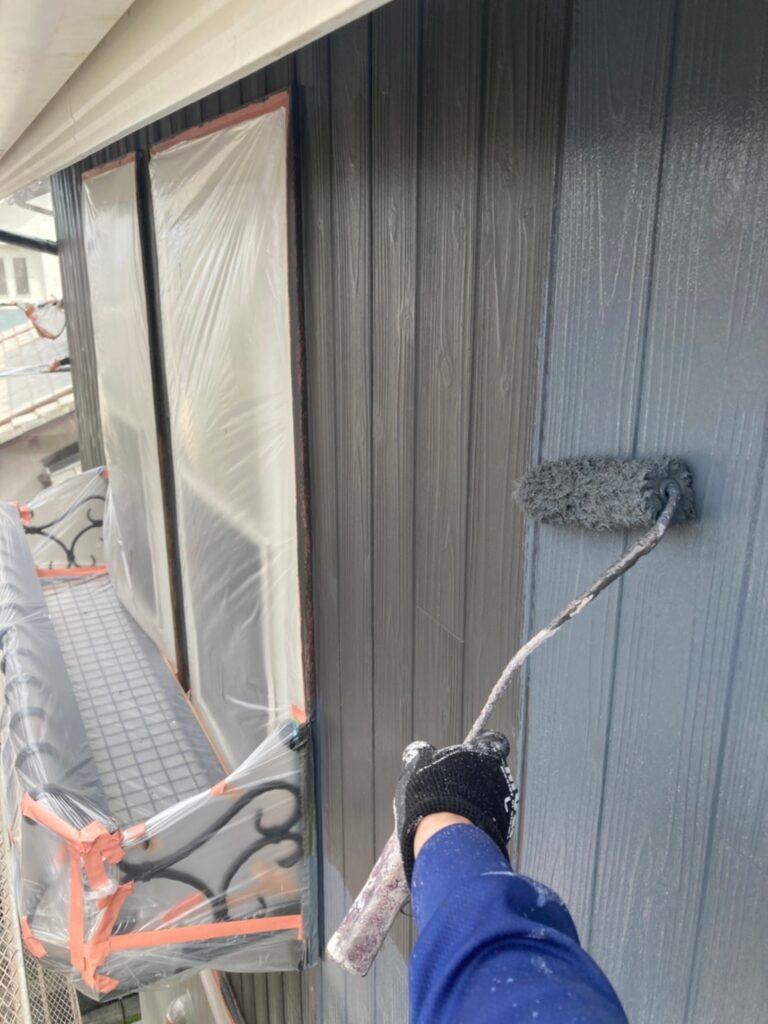 那珂川市 外壁中塗り 写真7