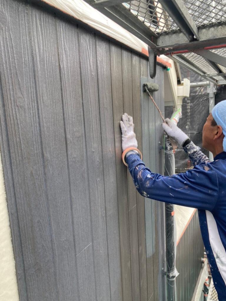 那珂川市 外壁中塗り 写真9