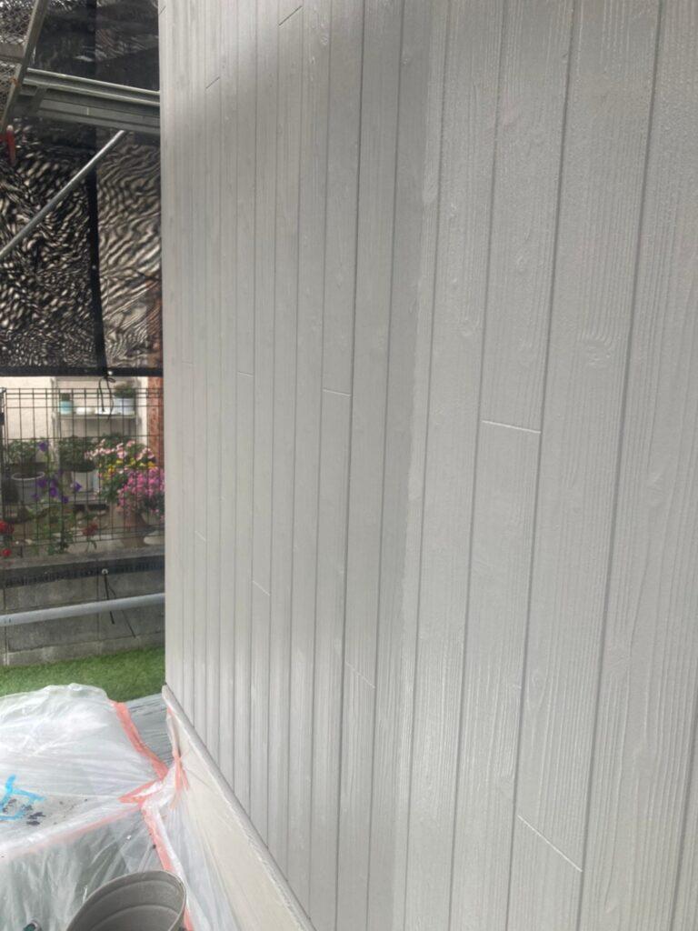 那珂川市 外壁の上塗り 写真5