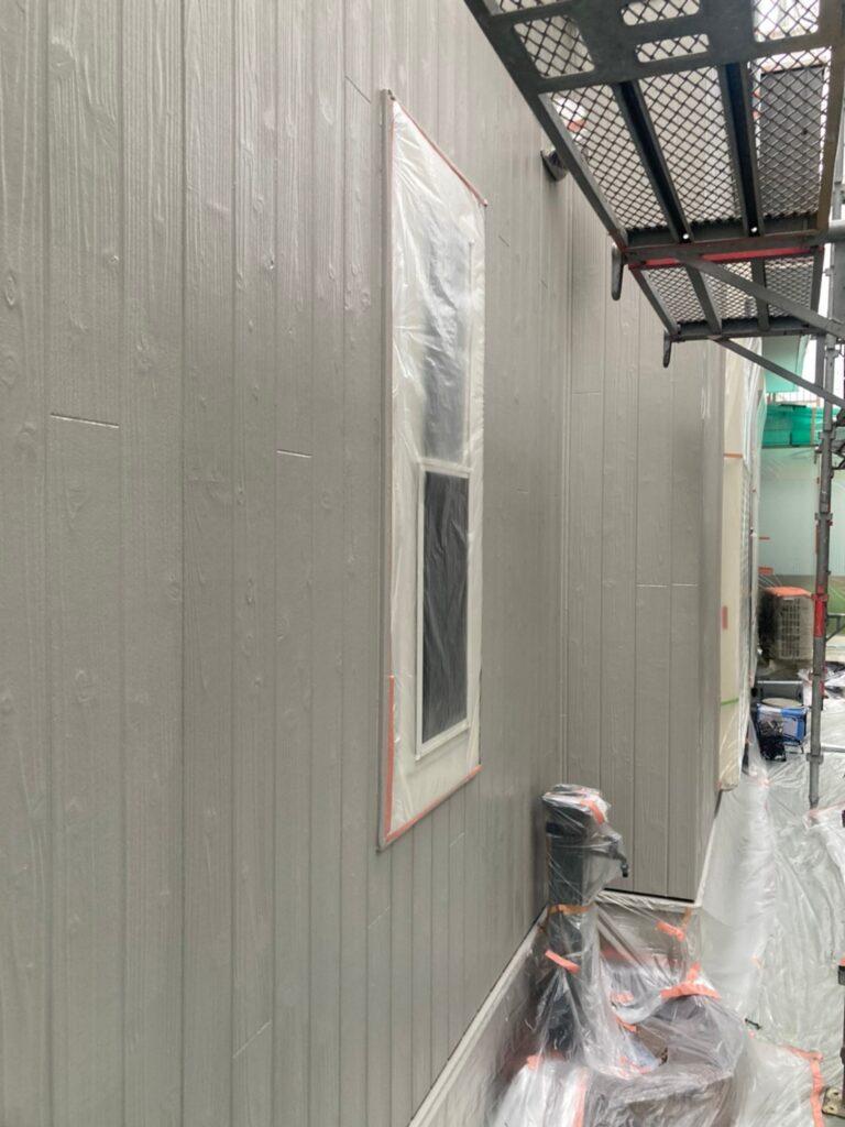 那珂川市 外壁の上塗り 写真6