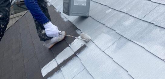 那珂川市 屋根の下塗り
