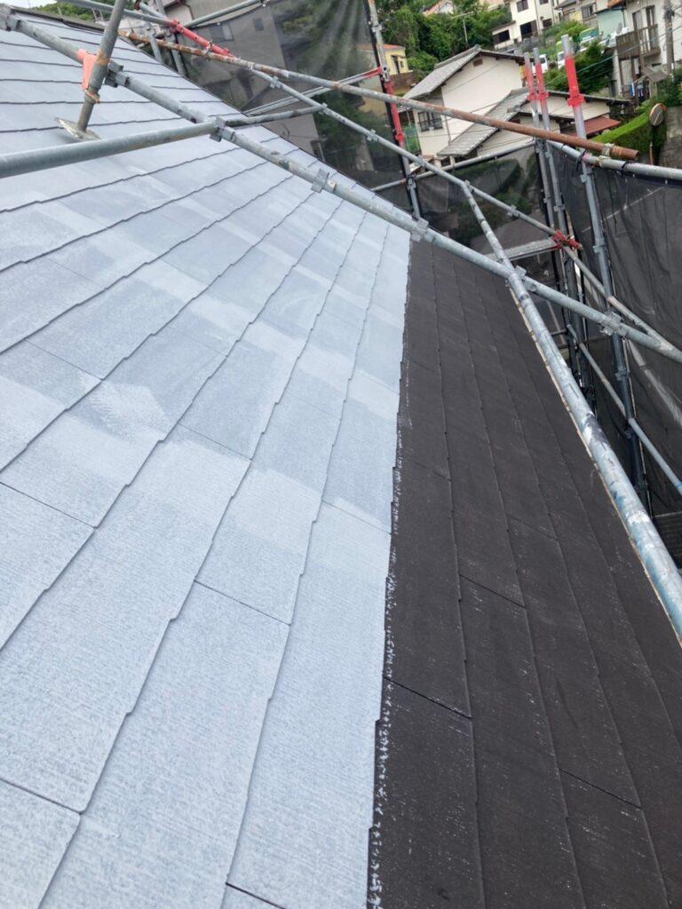 那珂川市 屋根の下塗り 写真3