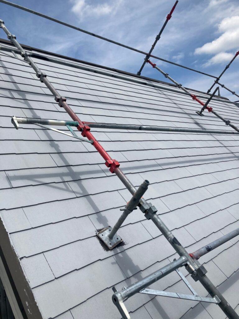 那珂川市 屋根の下塗り 写真6