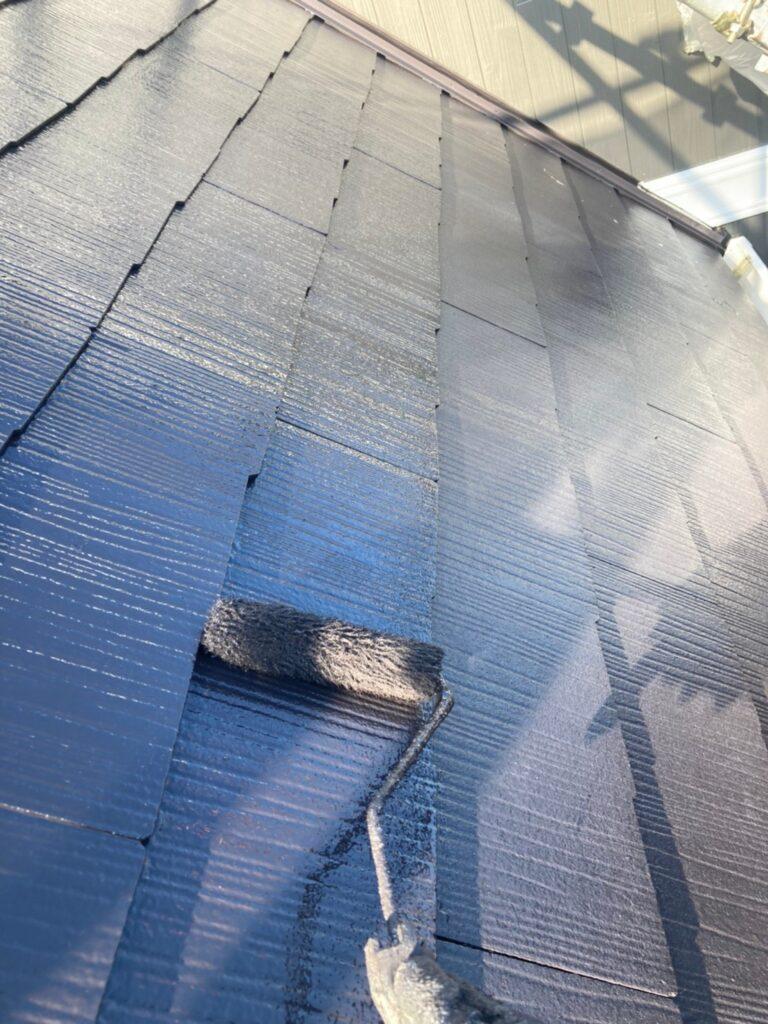 那珂川市 屋根の上塗り 写真4