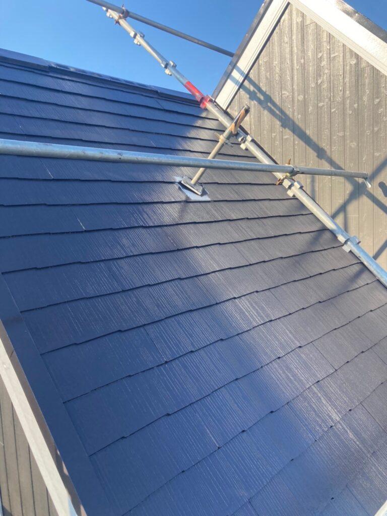 那珂川市 屋根の上塗り 写真6