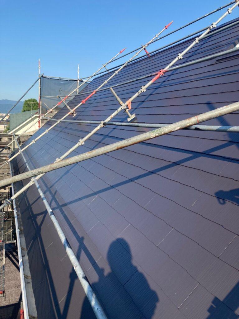 那珂川市 屋根の上塗り 写真7