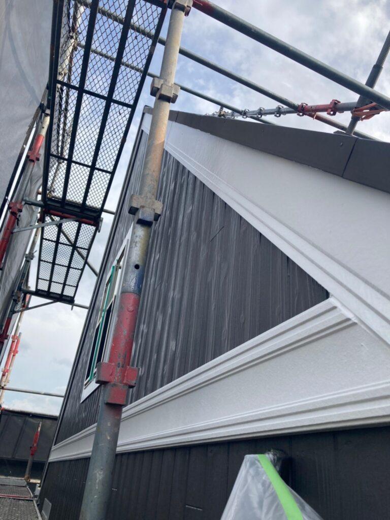 那珂川市 付帯塗装1回目 写真5