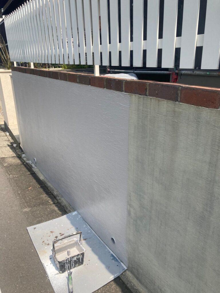 那珂川市 腰壁塗装 写真6