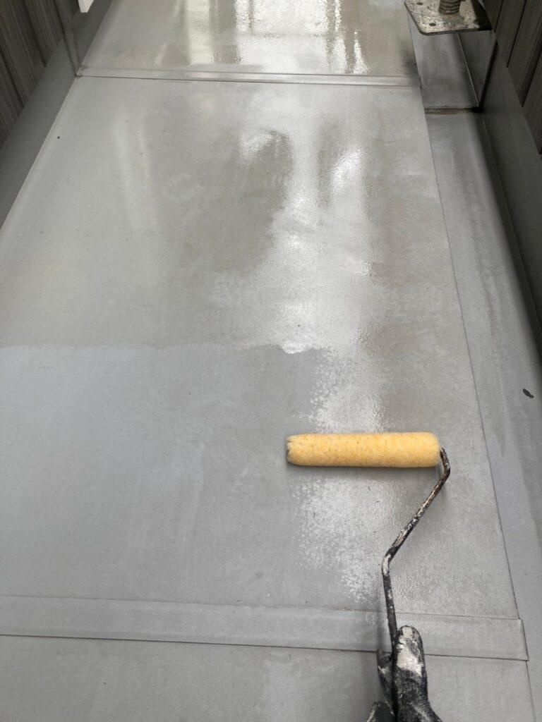 那珂川市 ベランダ防水塗装2