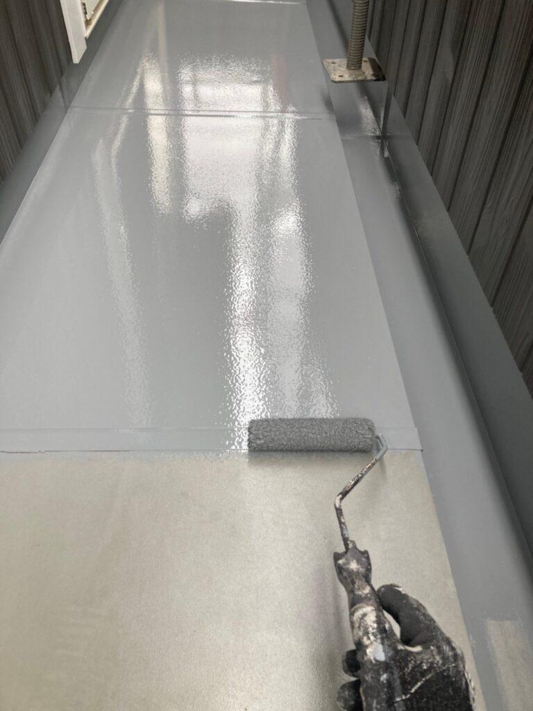 那珂川市 ベランダ防水塗装5