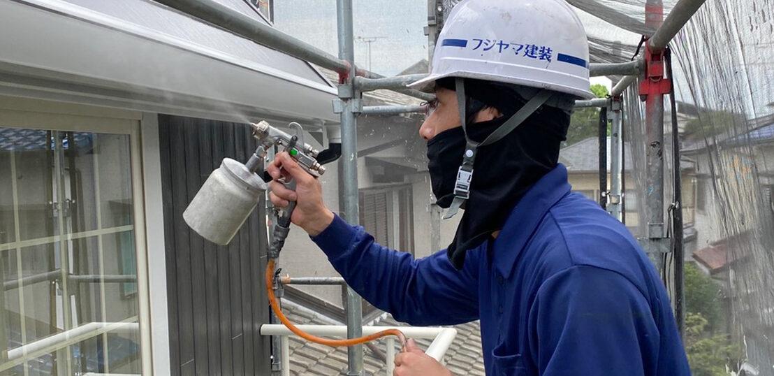 那珂川市 光触媒コーティングなどを終え完工