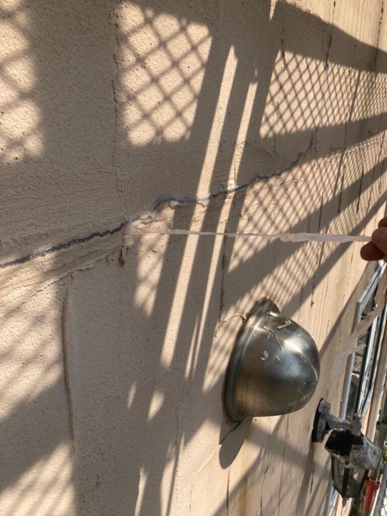飯塚市 高圧洗浄と旧コーキング撤去 写真15