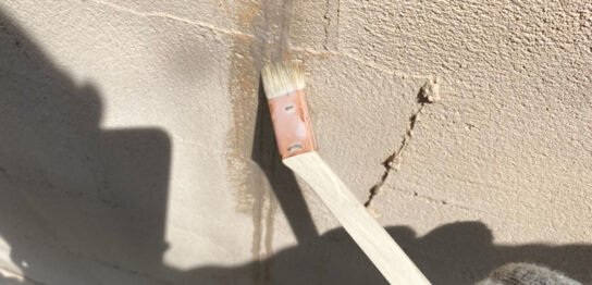 飯塚市 外壁クラック補修