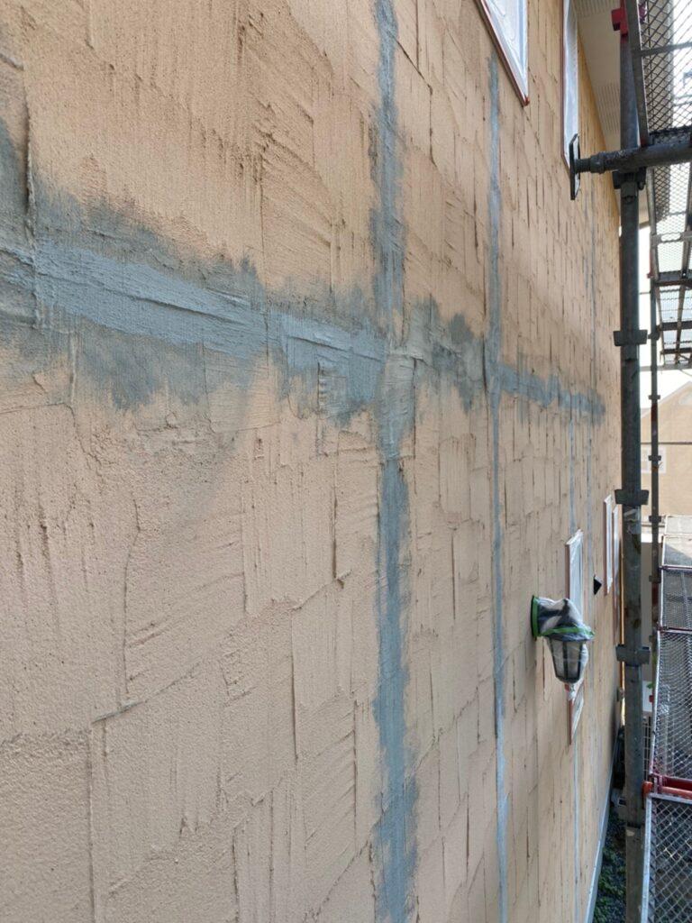 飯塚市 外壁クラック補修 写真7