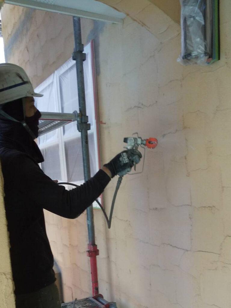 飯塚市 外壁塗装 下塗り1回目 写真8