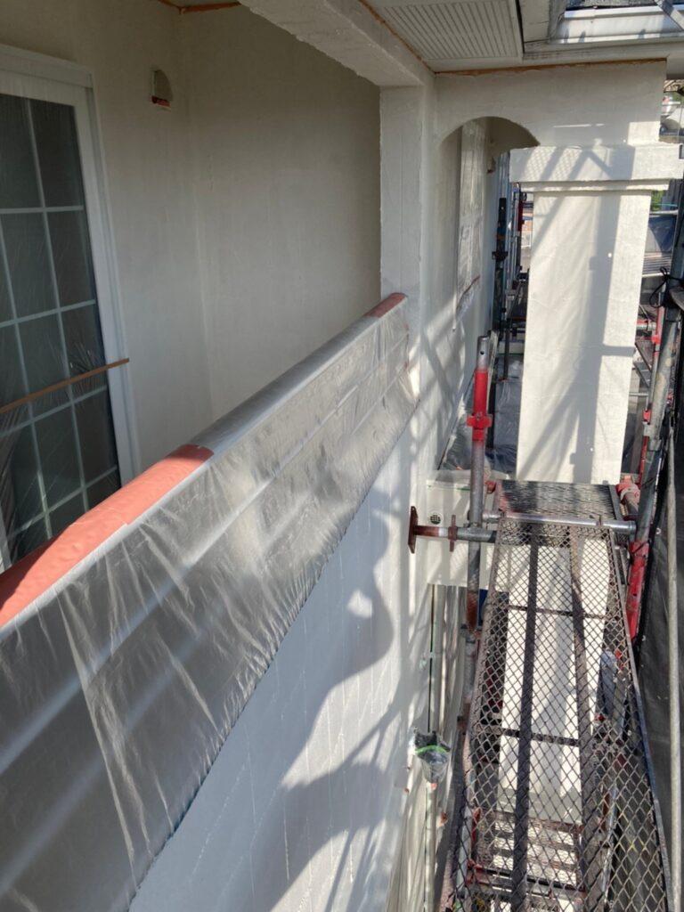 飯塚市 外壁塗装 下塗り2回目 写真8