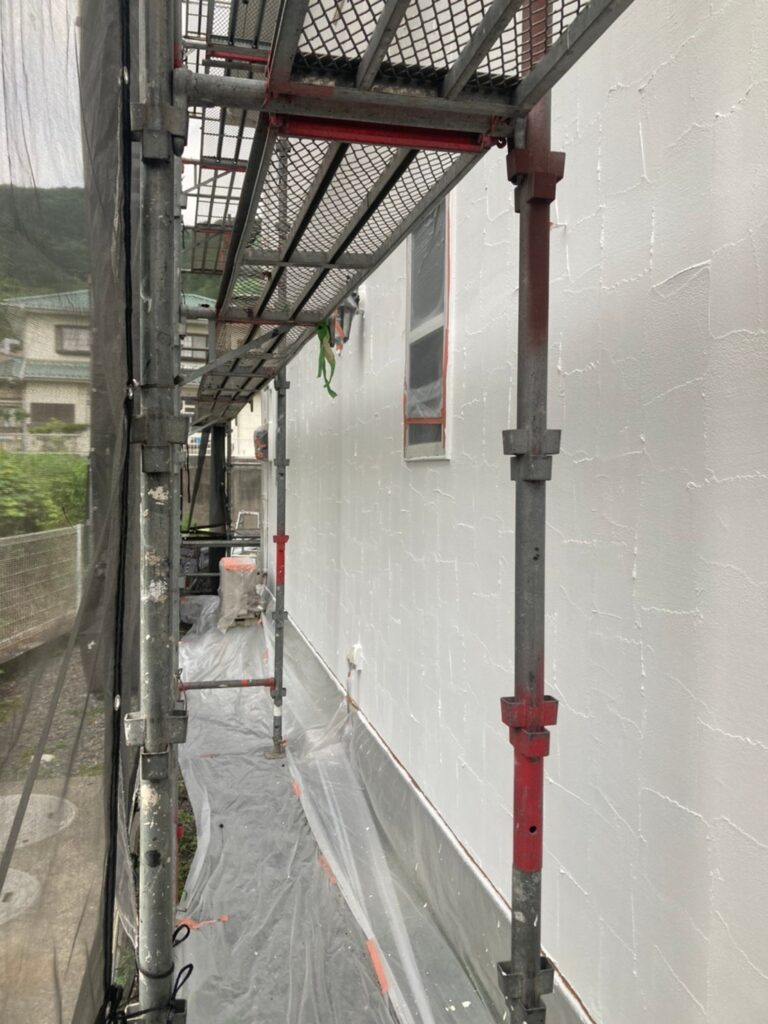 飯塚市 外壁塗装 下塗り3回目 写真7