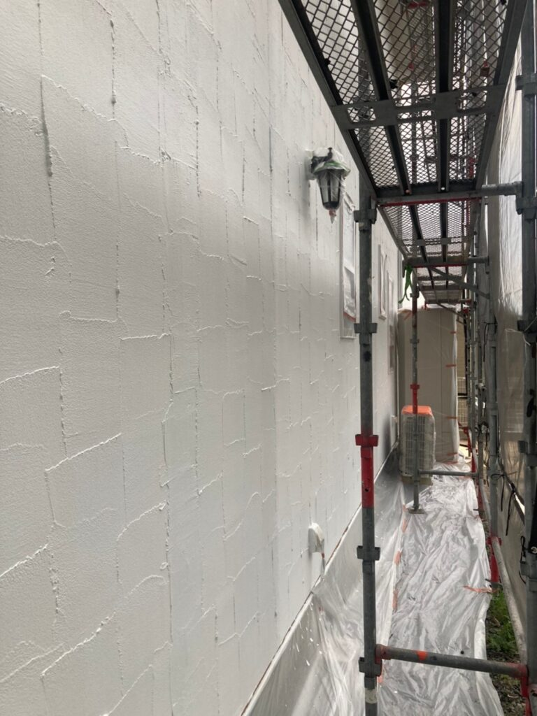 飯塚市 外壁塗装 下塗り3回目 写真8