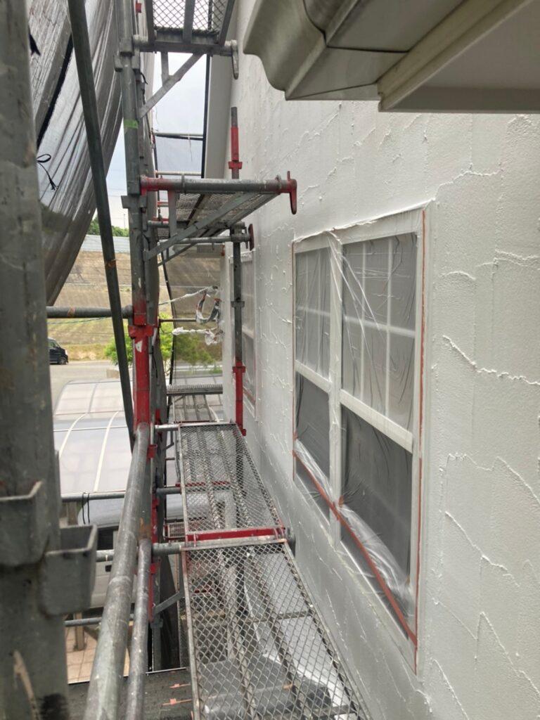 飯塚市 外壁塗装 下塗り3回目 写真9