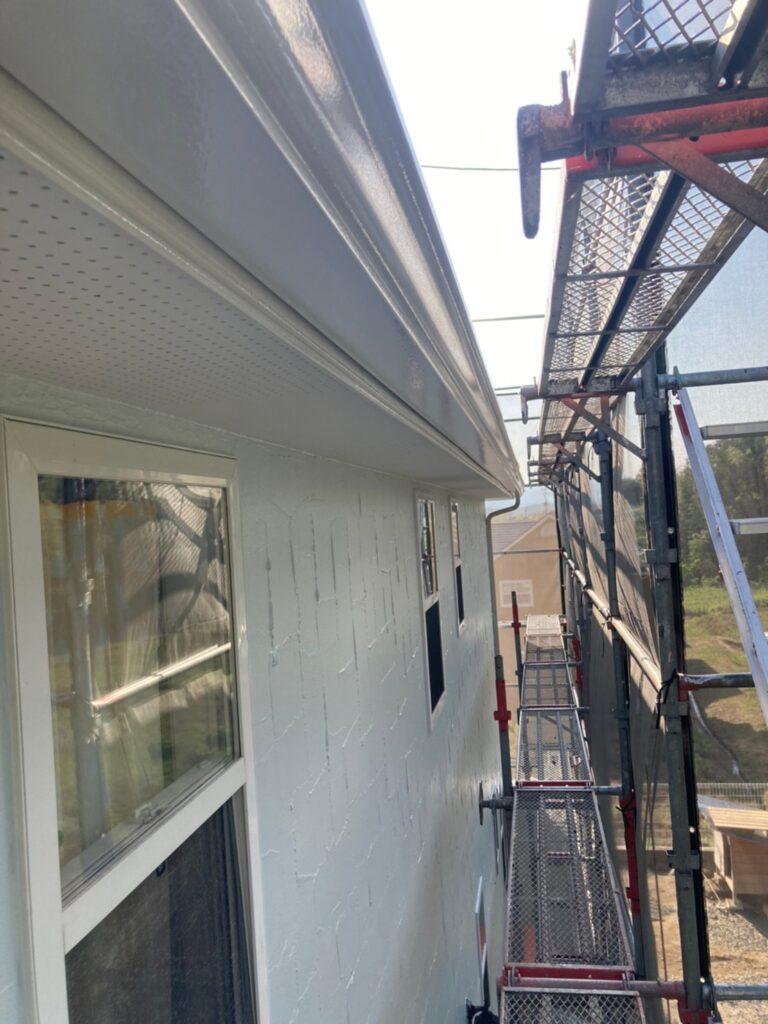 飯塚市 外壁塗装(上塗り) 付帯塗装 写真12