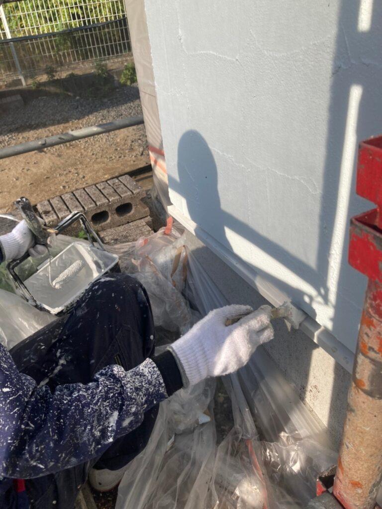 飯塚市 外壁塗装(上塗り) 付帯塗装 写真16