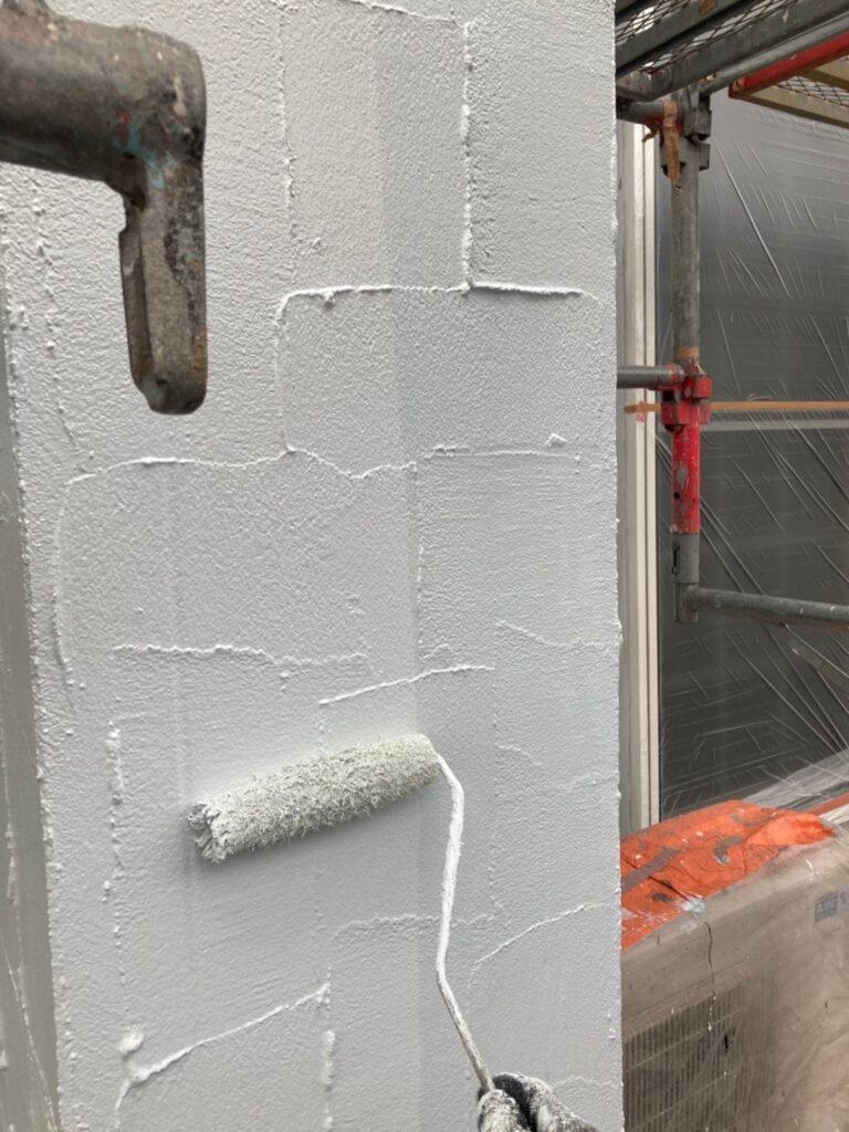 飯塚市 外壁塗装(上塗り) 付帯塗装 写真4
