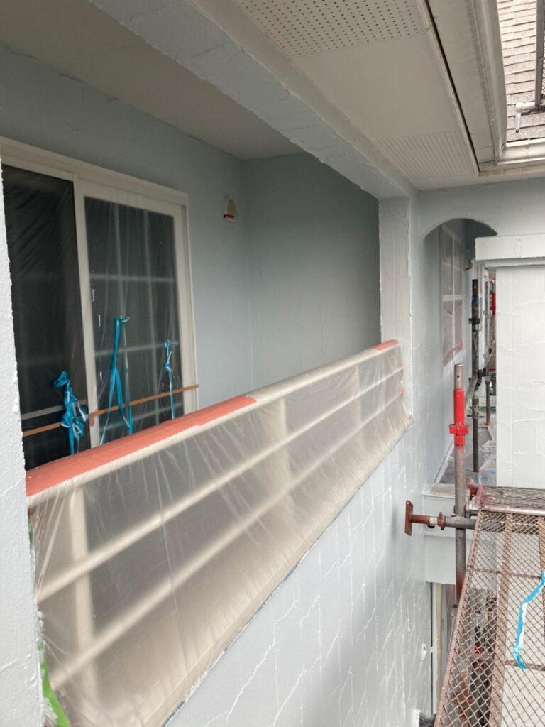 飯塚市 外壁塗装(上塗り) 付帯塗装 写真5