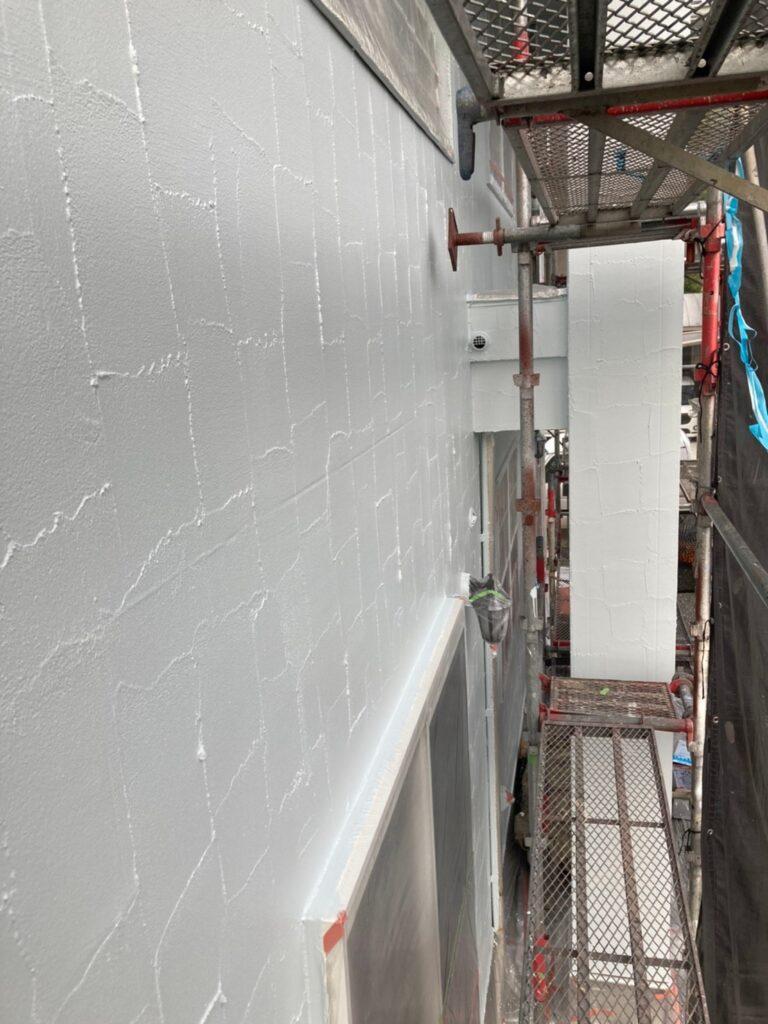 飯塚市 外壁塗装(上塗り) 付帯塗装 写真8