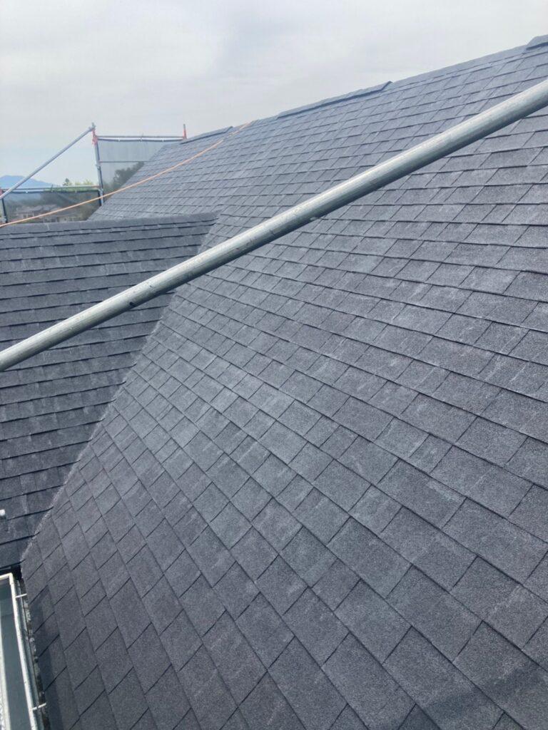 飯塚市 付帯塗装続き 屋根塗装(下塗り) 写真13