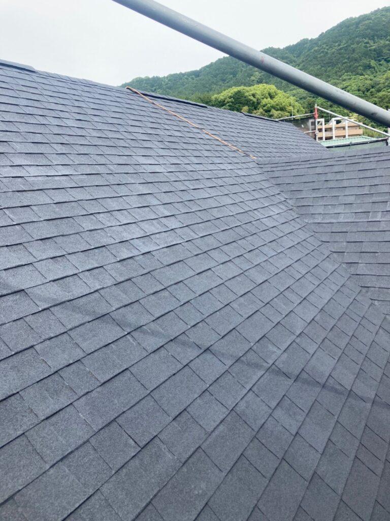 飯塚市 付帯塗装続き 屋根塗装(下塗り) 写真14