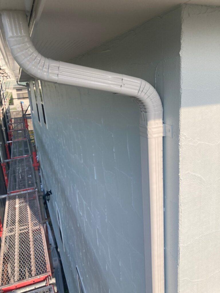 飯塚市 付帯塗装続き 屋根塗装(下塗り) 写真6
