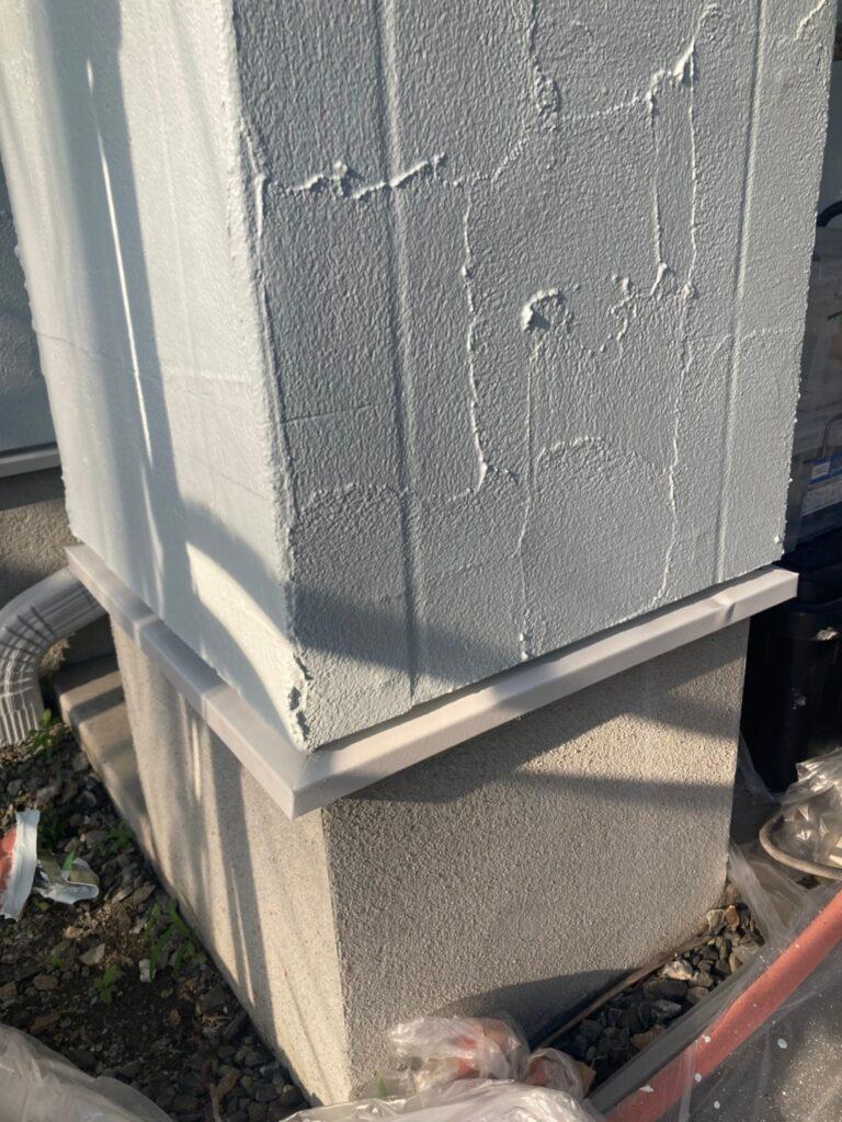 飯塚市 付帯塗装続き 屋根塗装(下塗り) 写真8