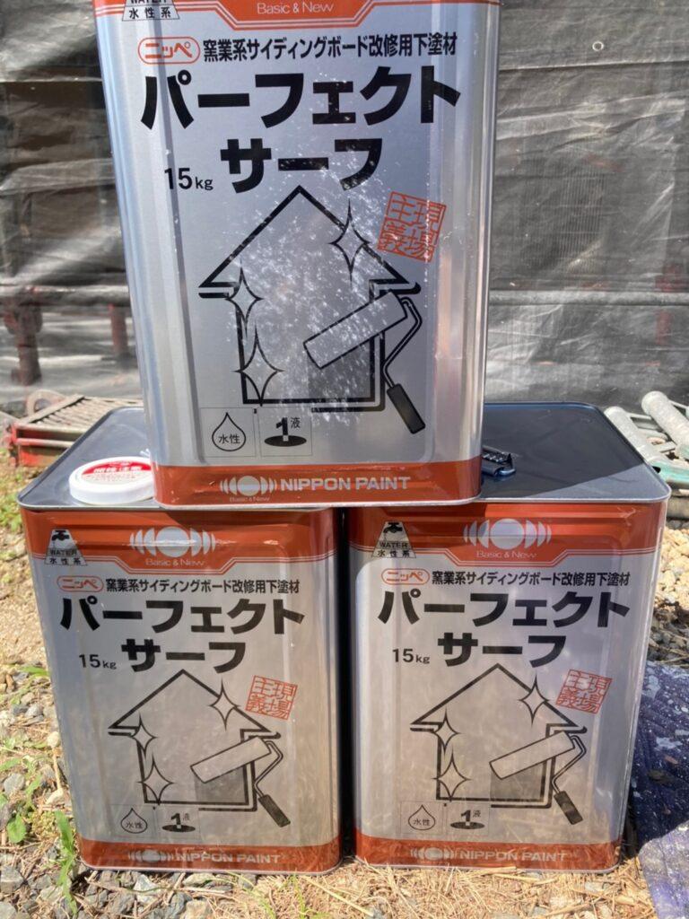 飯塚市 ベランダ防水塗装と腰壁塗装 写真10
