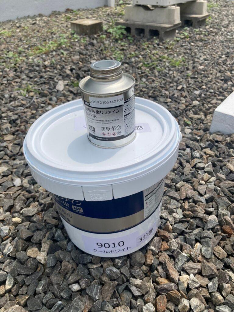 飯塚市 ベランダ防水塗装と腰壁塗装 写真13