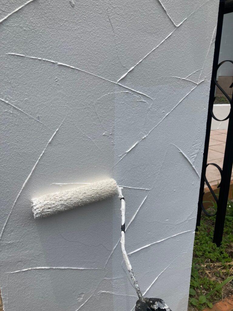 飯塚市 ベランダ防水塗装と腰壁塗装 写真16
