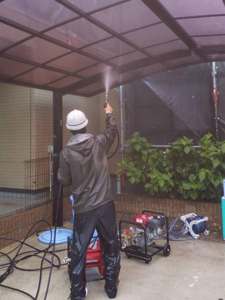 福岡市東区 高圧洗浄 写真20