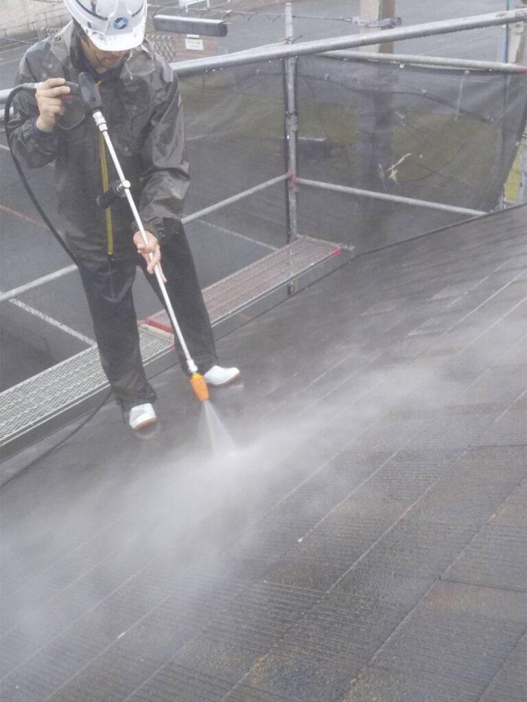 福岡市東区 高圧洗浄 写真3