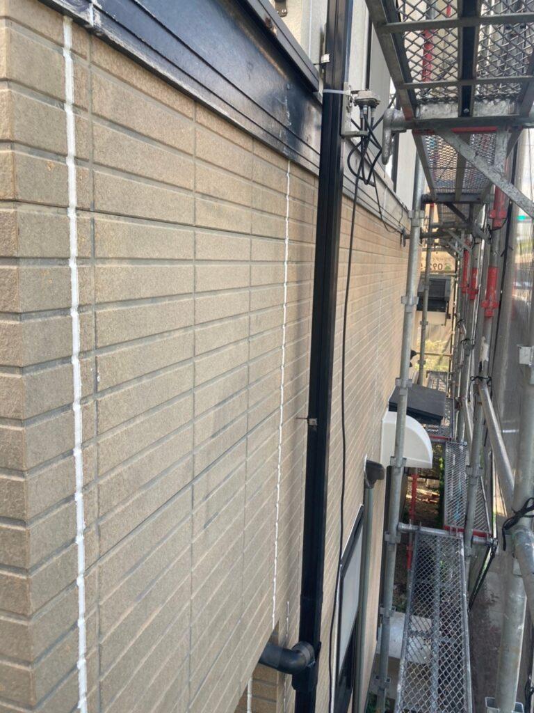 福岡市東区 コーキングの打ち替えと打ち増し 写真20