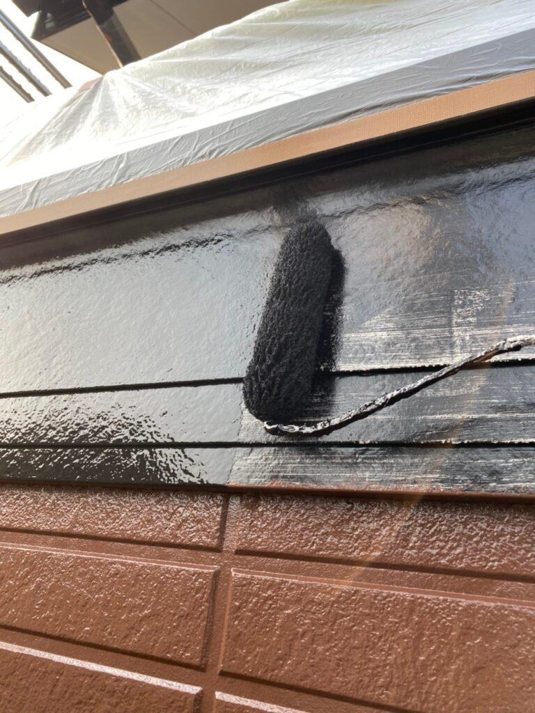 福岡市東区 屋根塗装(下塗り) 付帯塗装 写真10