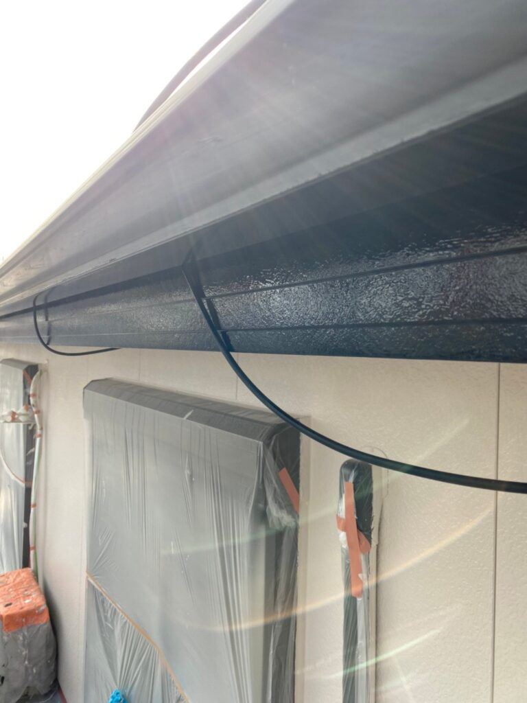 福岡市東区 屋根塗装(下塗り) 付帯塗装 写真12