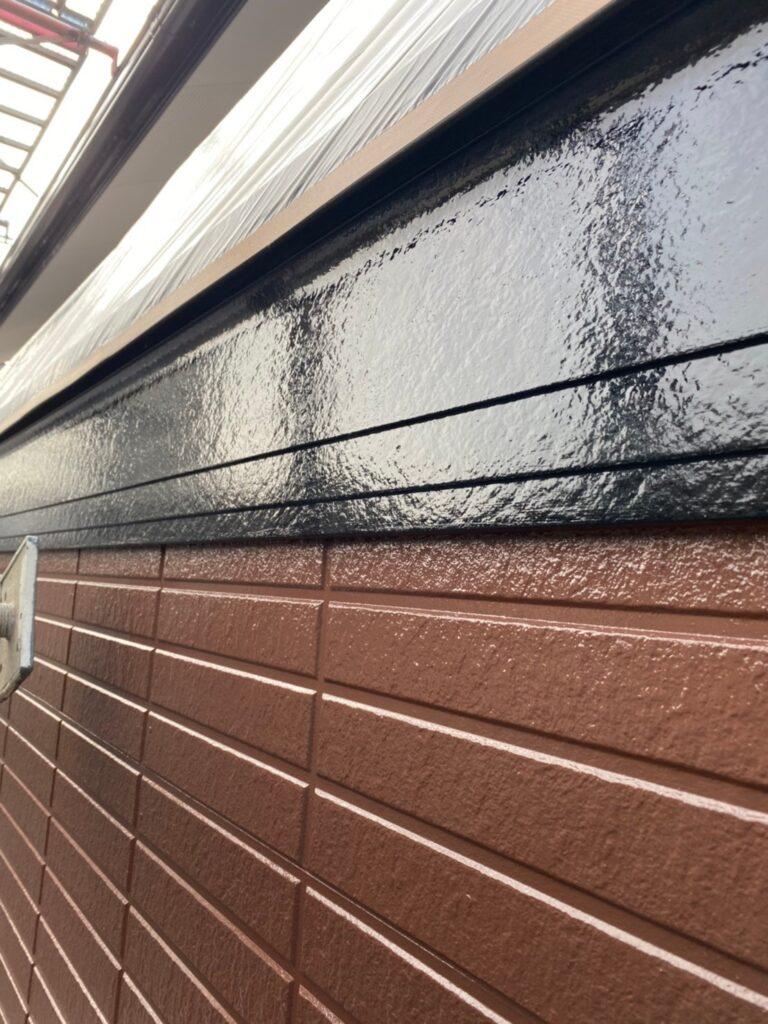 福岡市東区 屋根塗装(下塗り) 付帯塗装 写真13