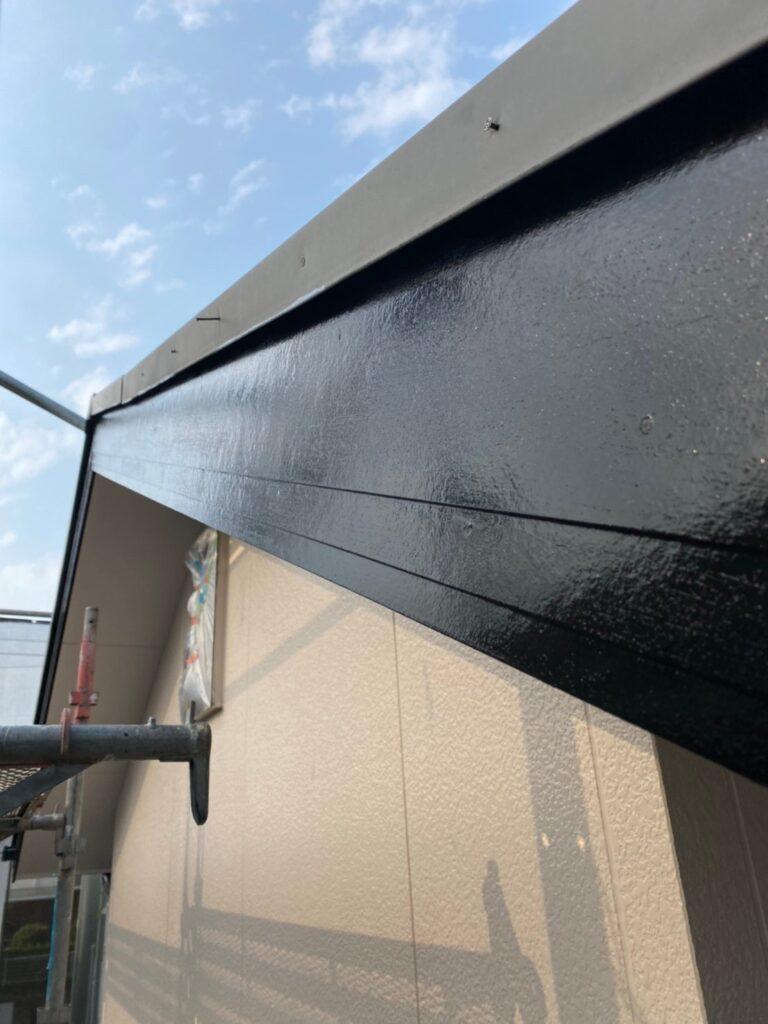 福岡市東区 屋根塗装(下塗り) 付帯塗装 写真15