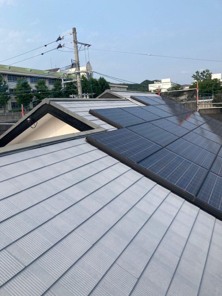 福岡市東区 屋根塗装(下塗り) 付帯塗装 写真5